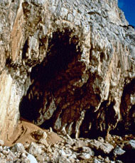Vanguard cave in Gibraltar