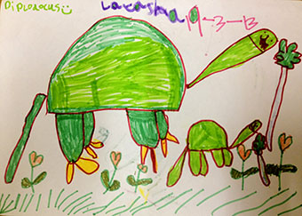 Dinosaur by Latasha Peters, age 5