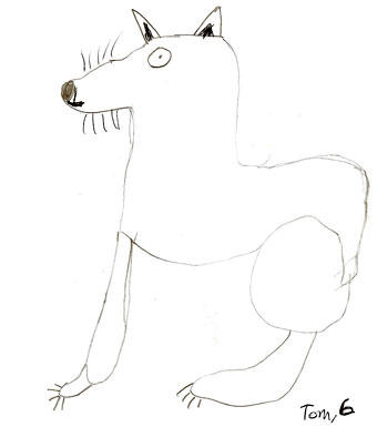 Fox by Tom, age 6