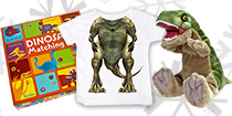 Christmas gift ideas: dino games, toys, T-shirts and more