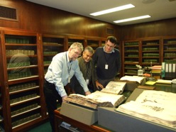Sir Hans Sloane's collections in the Special Collections Room