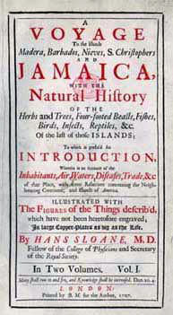 Jamaican voyage front page