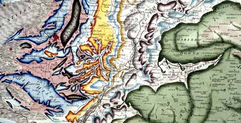 William Smith's Map of Great Britain