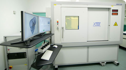 The Metris X-Tek HMX ST 225 CT scanner