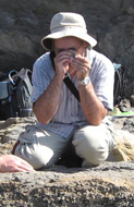 Martin on fieldwork image