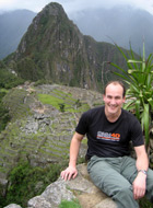 Tim Ewin on Machu Piccu