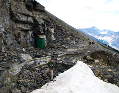 Walcott Quarry of the Burgess Shale