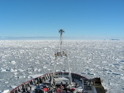 Sampling in Antarctica
