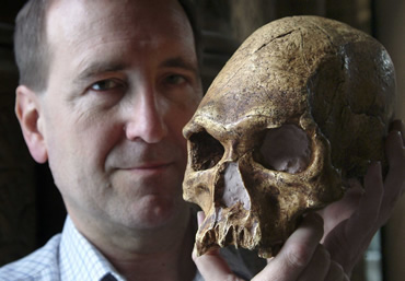 Professor Chris Stringer, Head of Human Origins at the Museum
