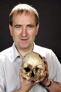 Professor Chris Stringer, human origins expert at the Natural History Museum