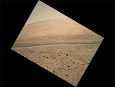 Curiosity-view of Mars