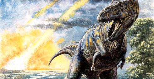 Asteroid impact killed the dinosaurs