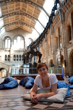 Rachel Haydon from the Museum's Learning department says Dino Snores Grown-ups is for kids-at-heart!