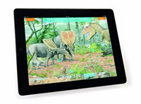 Discover life in the Cretaceous in the NHM Evolution app