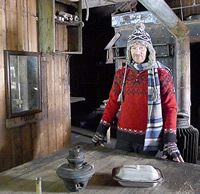 Captain Scott's grandson Falcon Scott is helping conserve Scott's hut in Antarctica