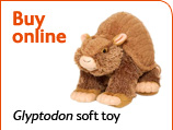 glyptodon cuddly toy