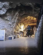 Gough's Cave in Somerset. New radiocarbon dates suggest humans this their home after ice age