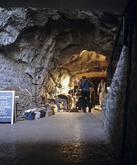 Gough's Cave in Cheddar Gorge, Somerset, southwest England is where the skull-cups were found