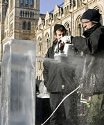 The Ice Sculpting Festival is held in the Museum's grounds and is a 3-day-long competition