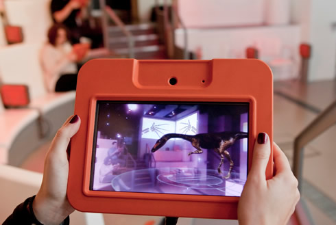 Museum's award- interactive film, Who do you think you really are?, recreates the story of evolution