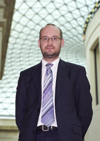New Director of Public Engagement at the Natural History Museum, Justin Morris.