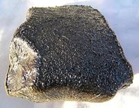 The Bunburra Rockhole meteorite is made from an usual type of basaltic igneous rock