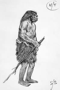 Neanderthal illustration