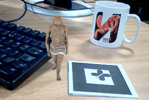 See a 3D Neanderthal walk across your desk with the new augmented reality (AR) Neanderthal