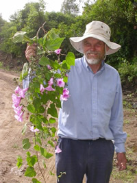 Plant collector John Wood in Bolivia - one of the great plant hunters identified in new research