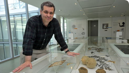 Professor Ian Owens in the Natural History Museum's Darwin Centre