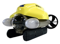 REX, the Museum's remotely operated underwater vehicle