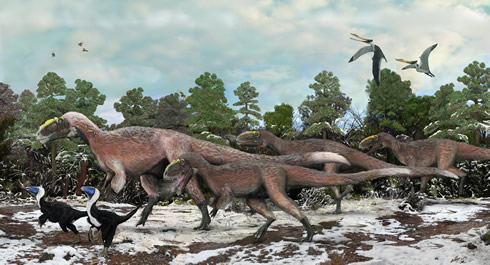 The giant feathered dinosaur Yutyrannus huali