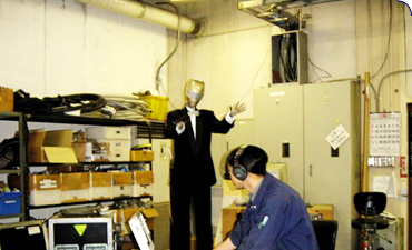 Servicing animatronic products