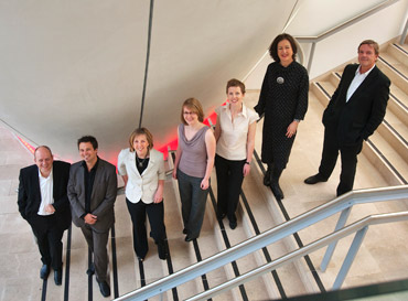 The Planning and Design Consulting team in the Museum's Darwin Centre