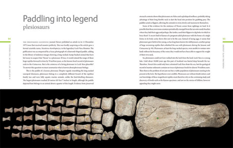 Pages from A History of Life in 100 Fossils