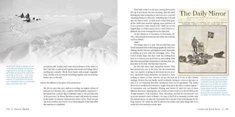 Race to the End book pages