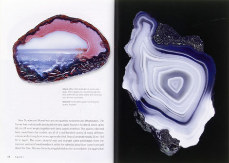 Striking agates from Scotland