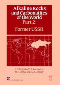 Alkaline Rocks and Carbonatites of the World: Former USSR (Part 2) cover