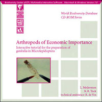 Arthropods of Economic Importance CD-ROM cover