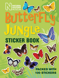 Butterfly Jungle Sticker Book cover