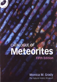 Catalogue of Meteorites cover