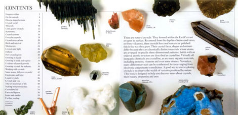 Pages from Crystals