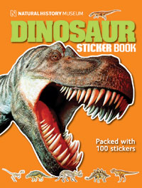 Dinosaur Sticker Book cover