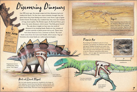 Pages from Dinosaur Hunters