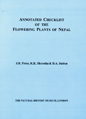 Annotated Checklist of the Flowering Plants of Nepal cover