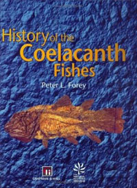 History of the Coelacanth Fishes cover