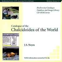 Interactive Catalogue of World Chalcidoidea cover