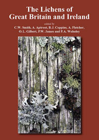 Lichen flora of Great Britain and Ireland cover