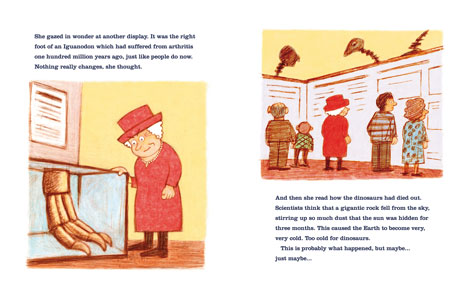Pages from The Queen and Mr Brown