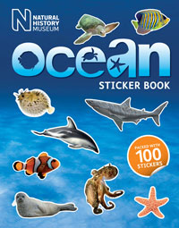 Ocean Sticker Book cover